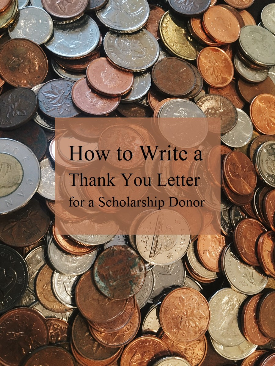 How to Write a Thank You Letter for a Scholarship Donor ToughNickel