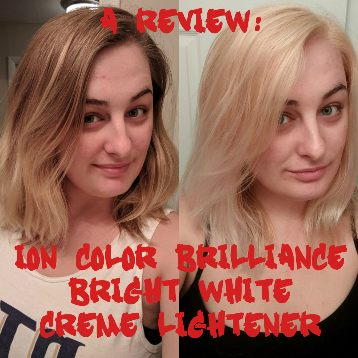 Hair DIY How to Use Ion Color Brilliance Bright White Creme