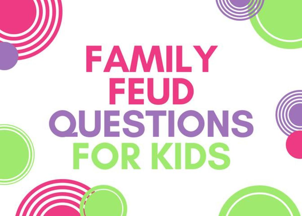 Family Feud Questions for Kids WeHaveKids