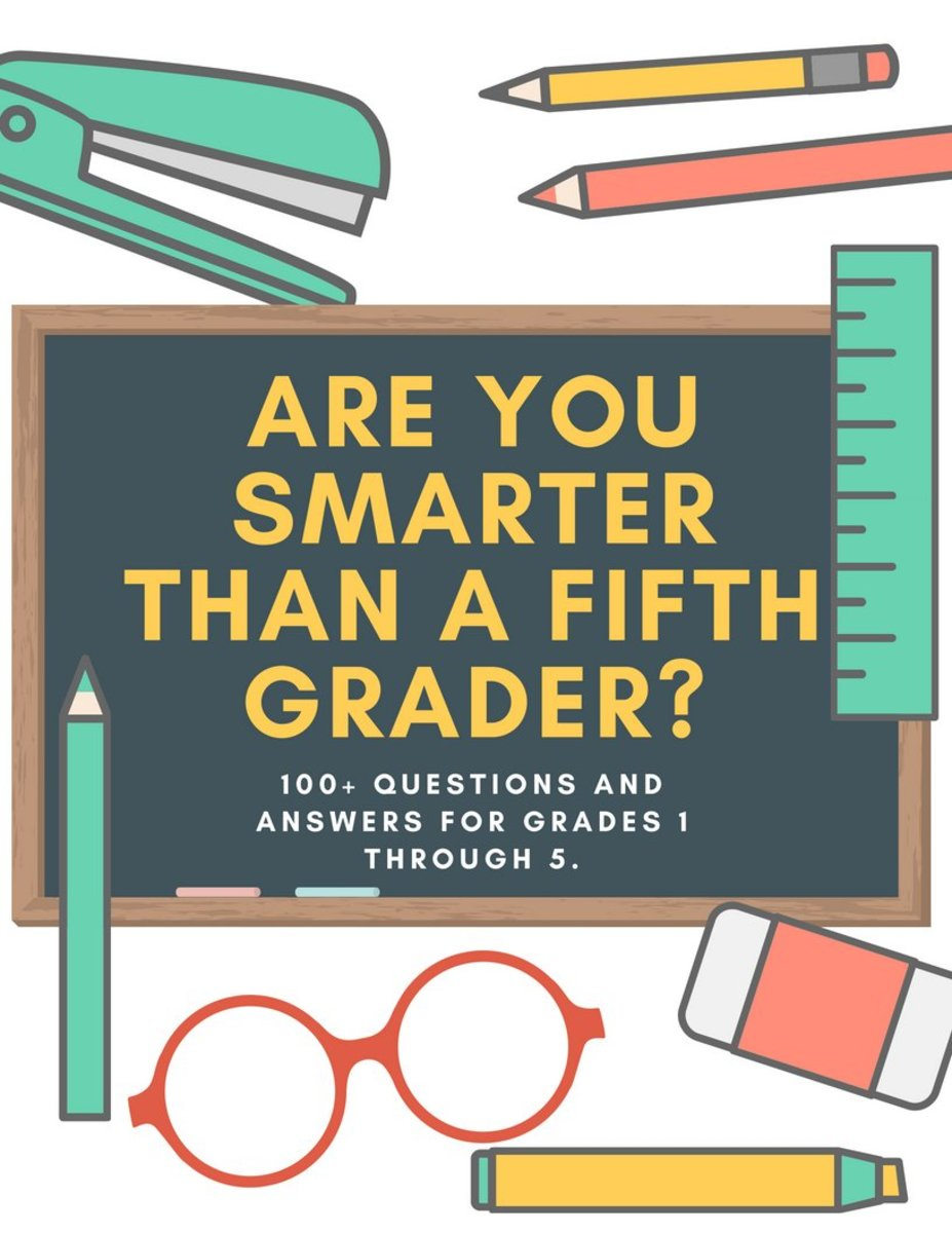 Are You Smarter Than A 5th Grader Questions And Answers Printable