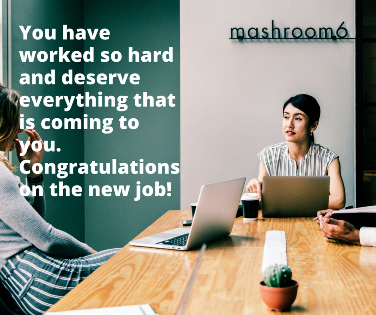 Congratulations on a New Job Wishes, Messages, and Quotes for a