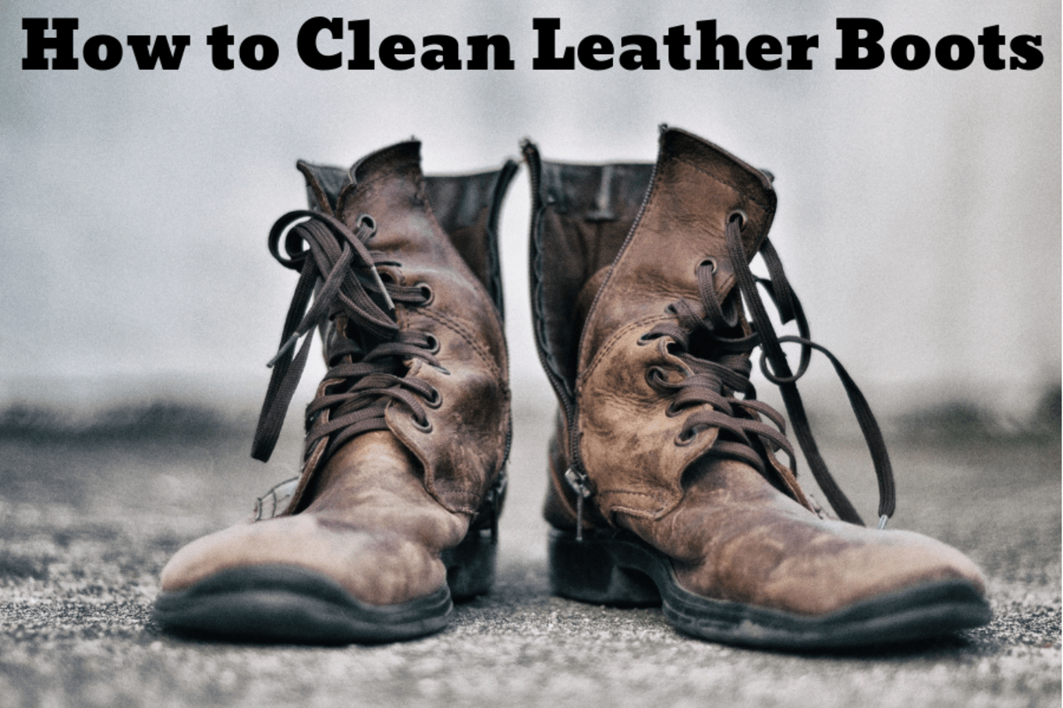 How To Clean Dirty Leather Boots Dengarden
