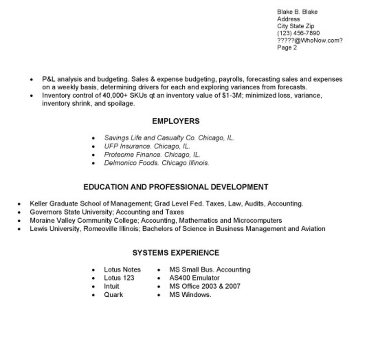 Standard Format Resume format cv resume resume format and resume - standard format resume