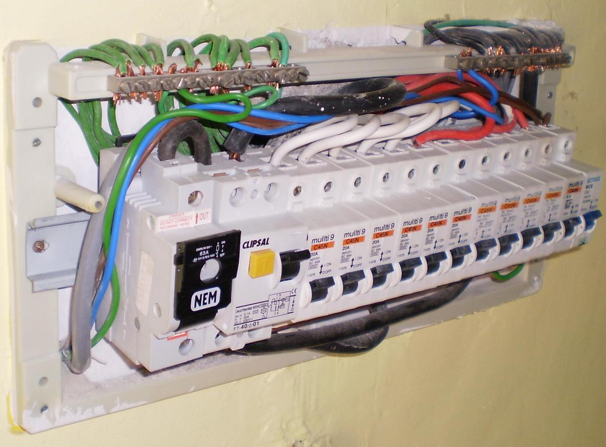 House Electric Panel Pictures Dengarden