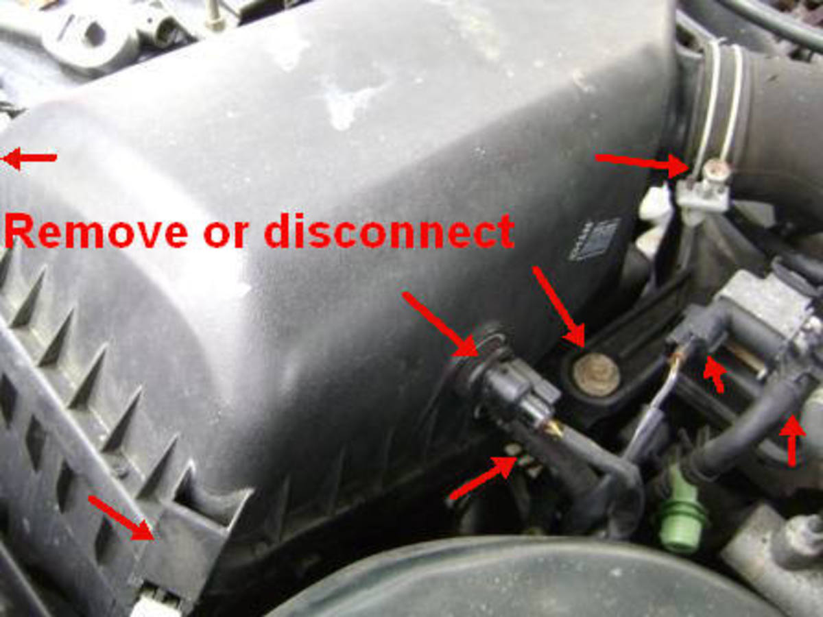 90\u2013\u002701 Toyota Camry Fuel Filter Replacement/Throttle Body Cleaning