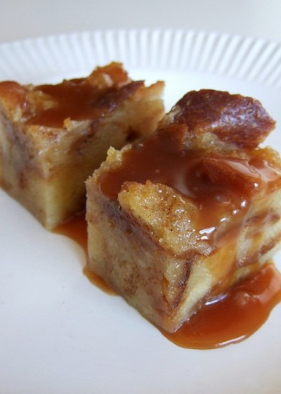 Easy Bread Pudding Recipe With Whiskey Sauce | Delishably
