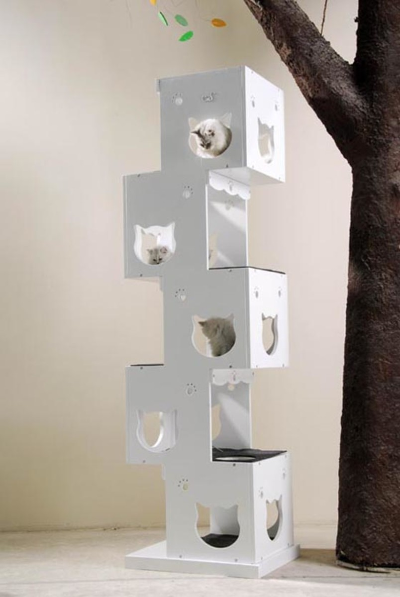 Unique Cat Trees You39ll Simply Love The Designs Hubpages