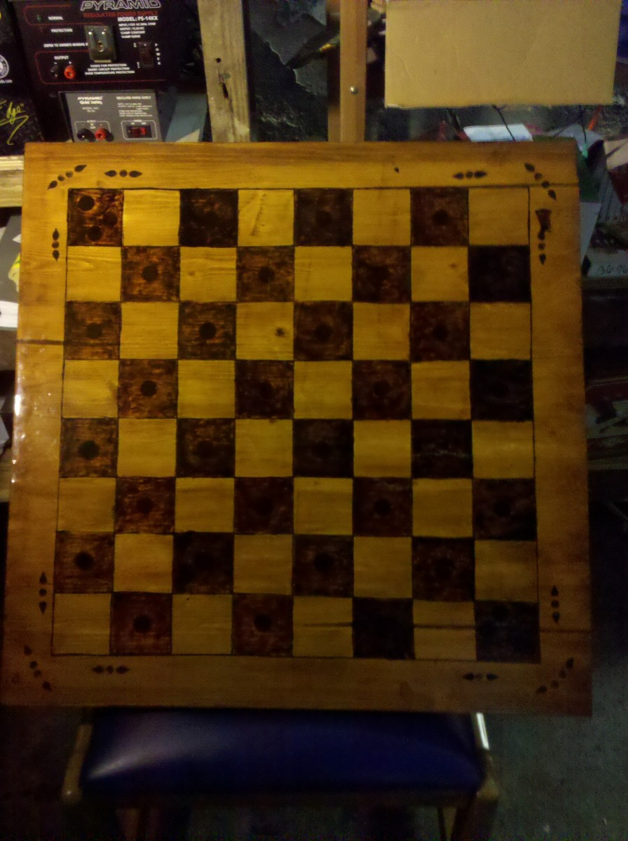 Diy Wood Chess Board How To Make A Chess Board Guide To Drawing Scoring And