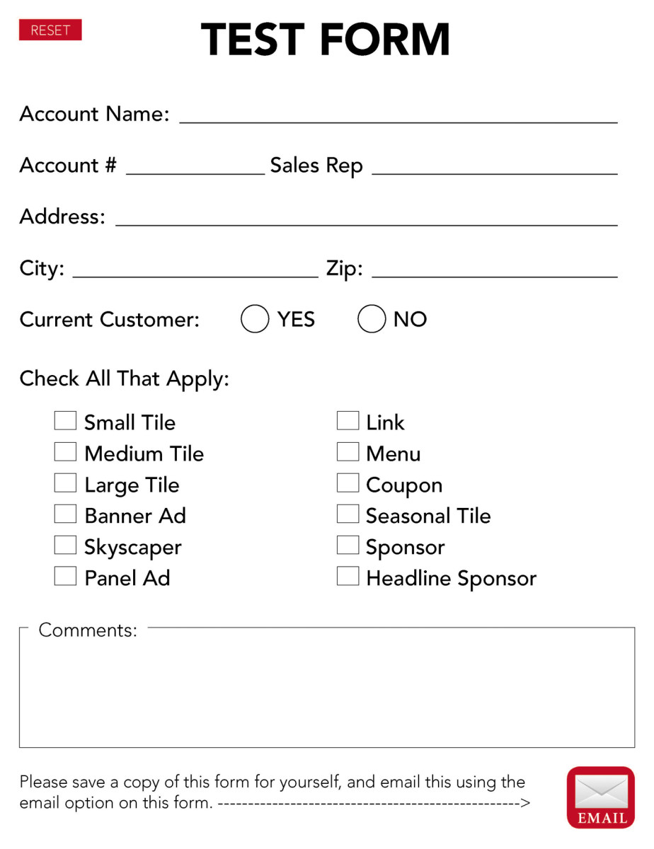 How To Make Interactive PDF Forms in Adobe Acrobat TurboFuture - how to make a sponsor form