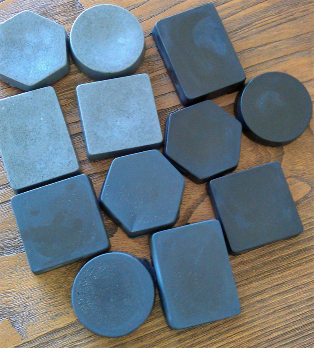Diy Soap Without Glycerin How To Make Bamboo Charcoal Soap Recipe With Pictures