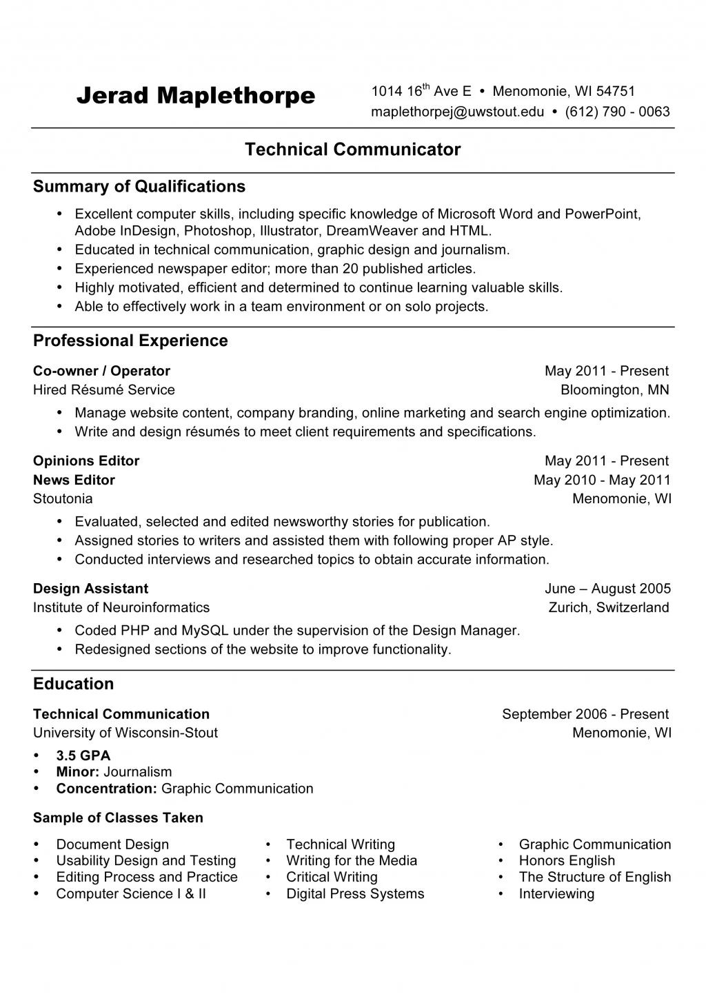 what to put under objective on a resume