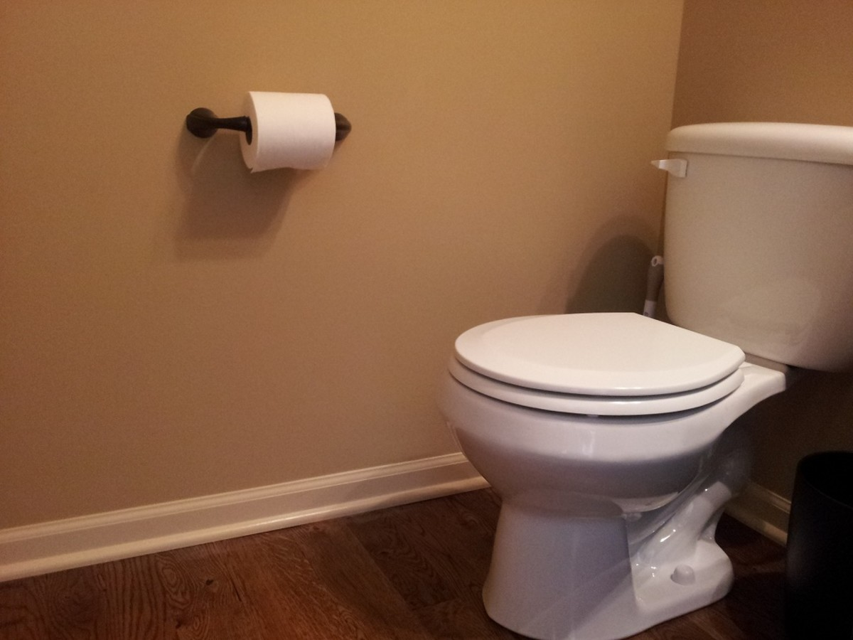 Install A Toilet How To Install A Toilet Paper Holder In A Bathroom Dengarden