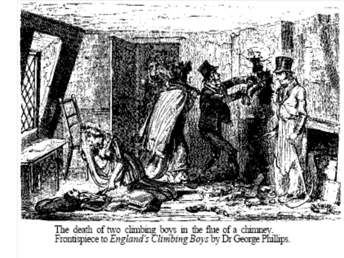 The Poor Life Of An Apprentice Chimney Sweep The History
