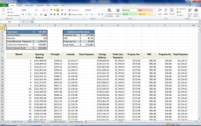 Mortgage Loan Calculator Using Excel | TurboFuture