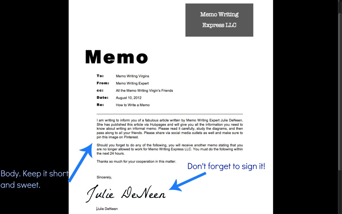 how to sign a memo - Tikirreitschule-pegasus - how to sign a memo