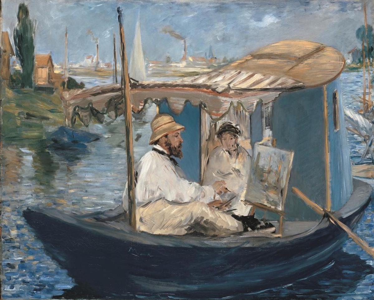 Monet Pintor Cuadros Famous Monet Oil Paintings Hubpages