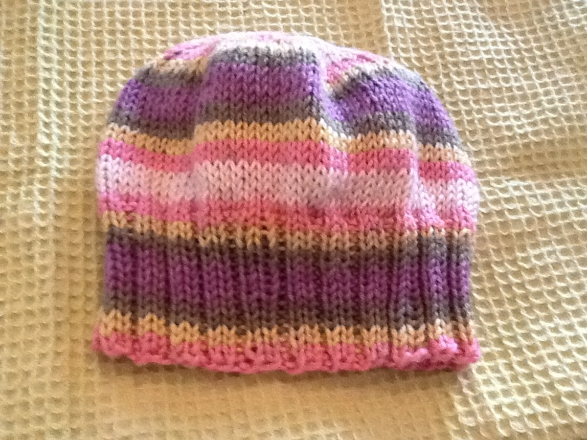 Best Way Join Yarn Knitting Knit A Child 39s Hat Free Pattern Included Hubpages