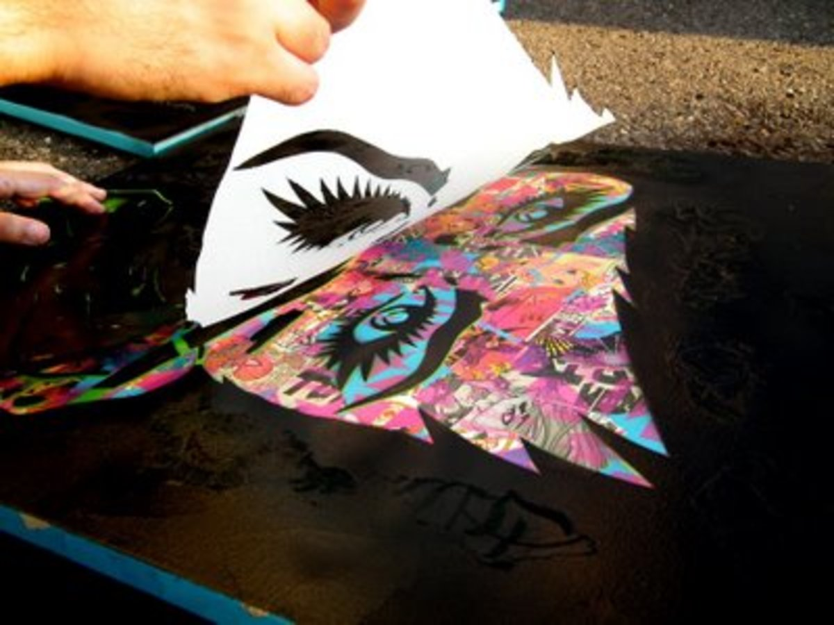 Stencil Graffiti How To Make Money From HubPages