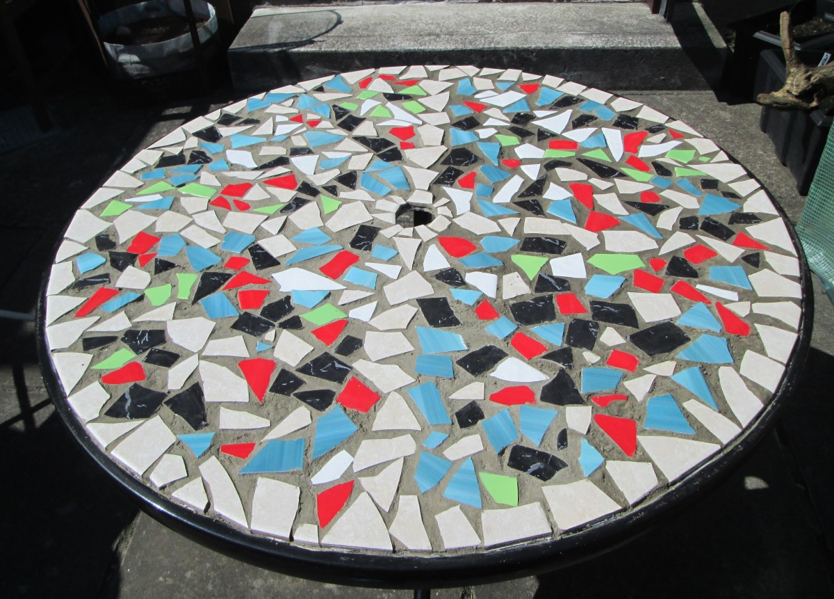 How To Design Mosaic Table Top With Ceramic Tiles Hubpages