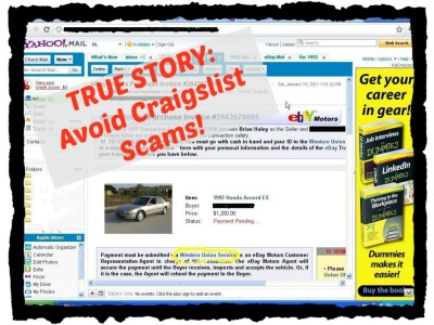 Craigslist Car Scams on the Internet - a True Story | HubPages