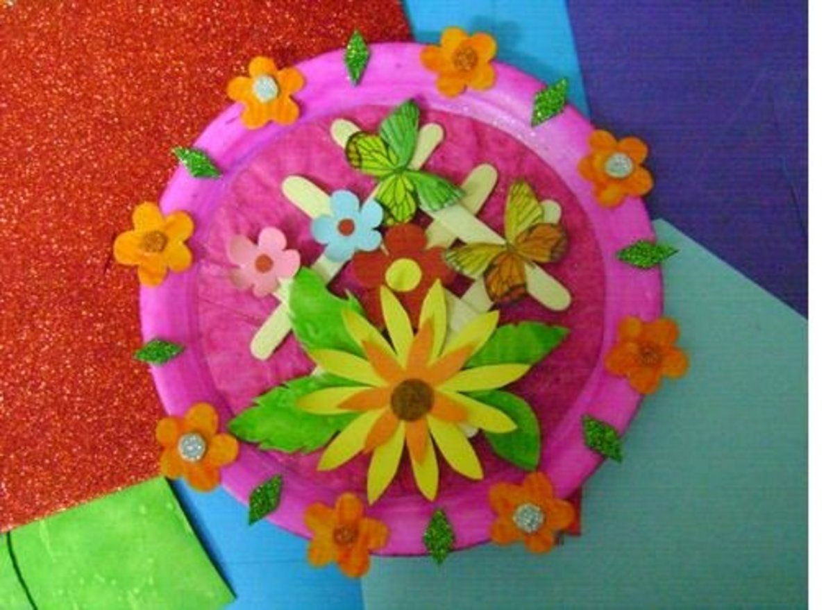 Best Out Of Waste A Beautiful Wall Piece Using A Paper
