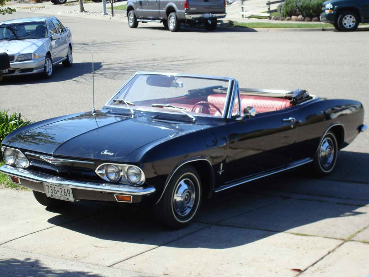 The Rear-Engine, Air-Cooled 1965-69 Chevrolet Corvair AxleAddict
