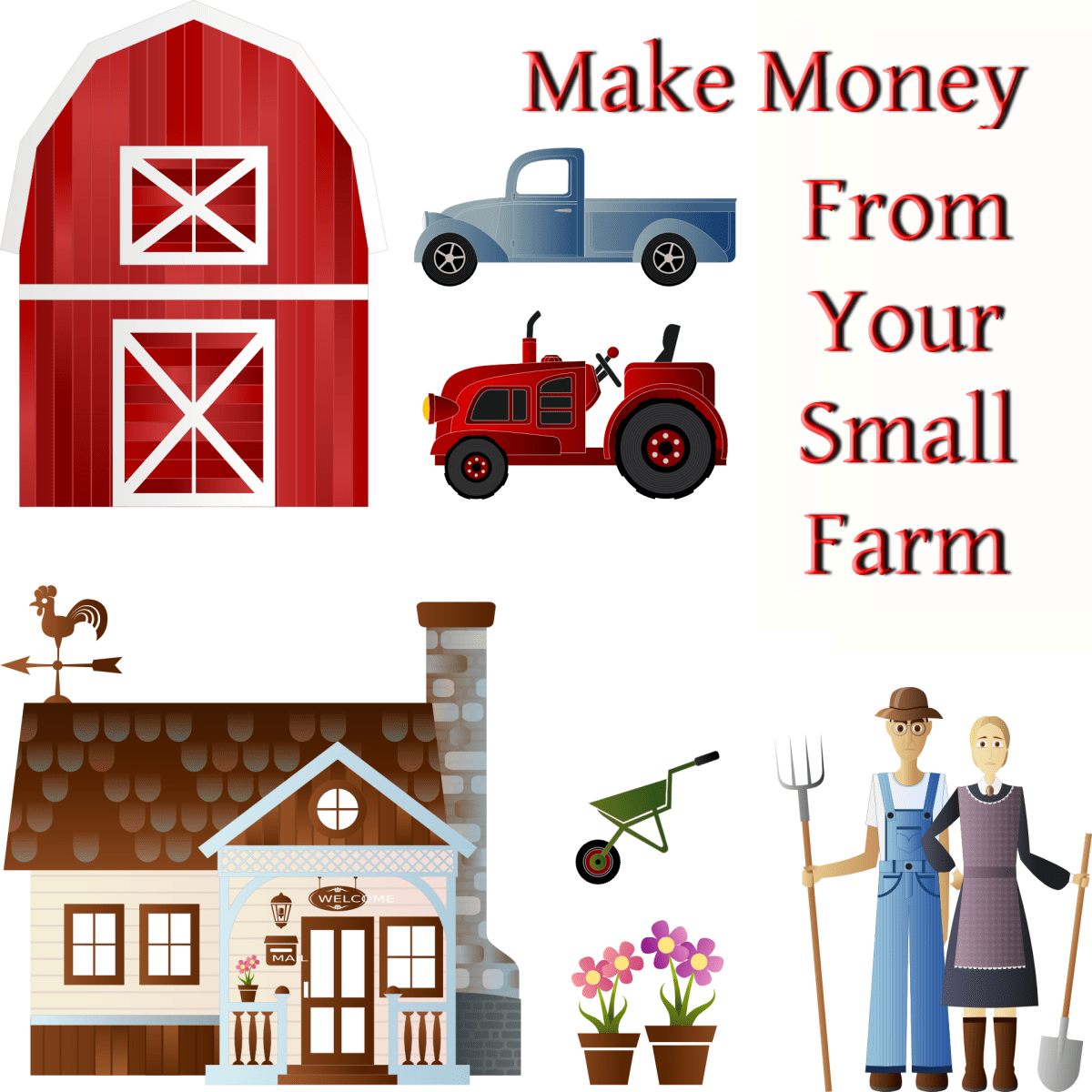 27 Ways to Make Money From Your Small Farm ToughNickel