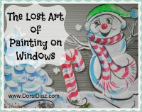 Ideas: The Lost Art of Painting Christmas Windows | HubPages