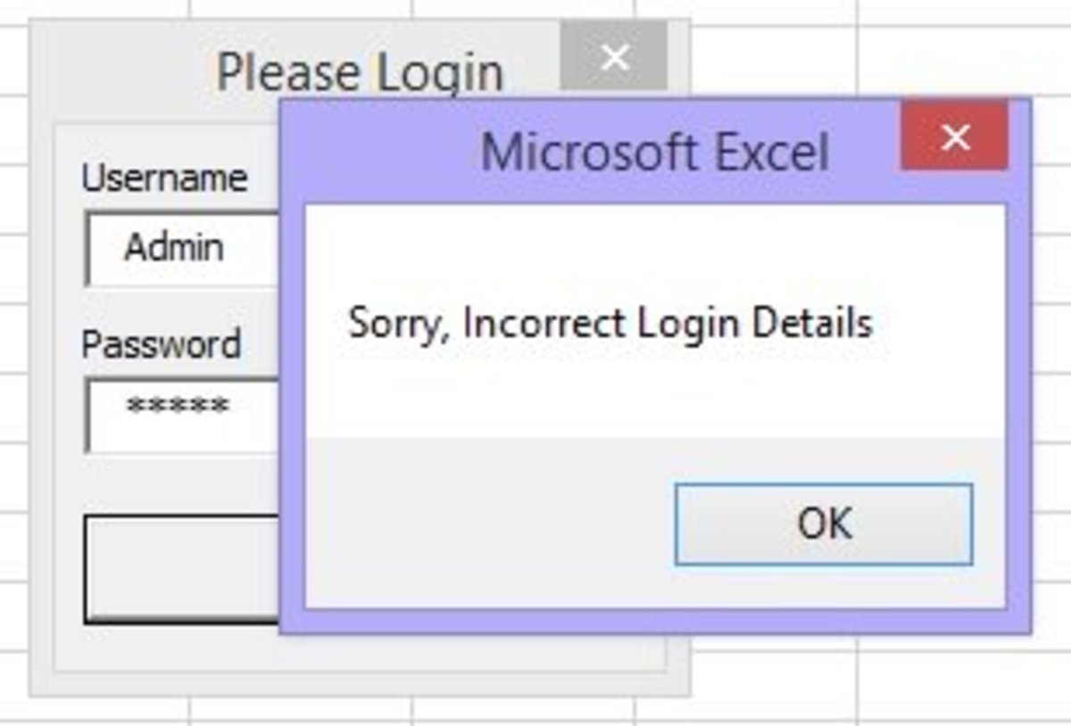 Excel VBA - Guide To Create A Login Form TurboFuture
