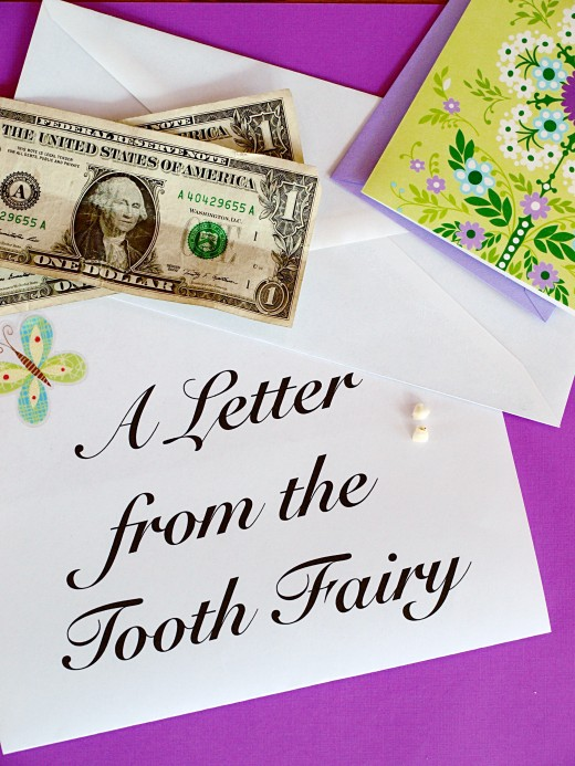 Tooth Fairy Letters for Your Child WeHaveKids - child letter