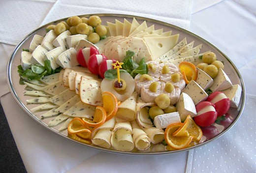 Cheese Platter Ideas, Recipes