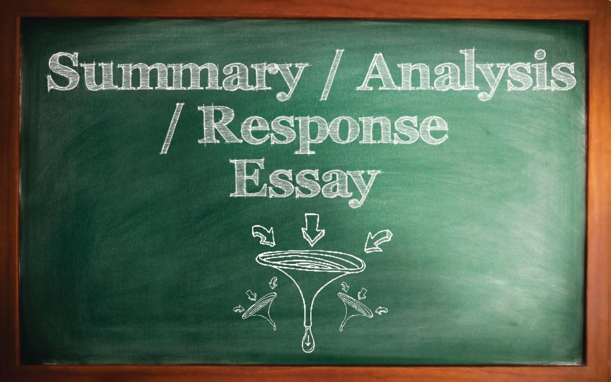 summary response essay format