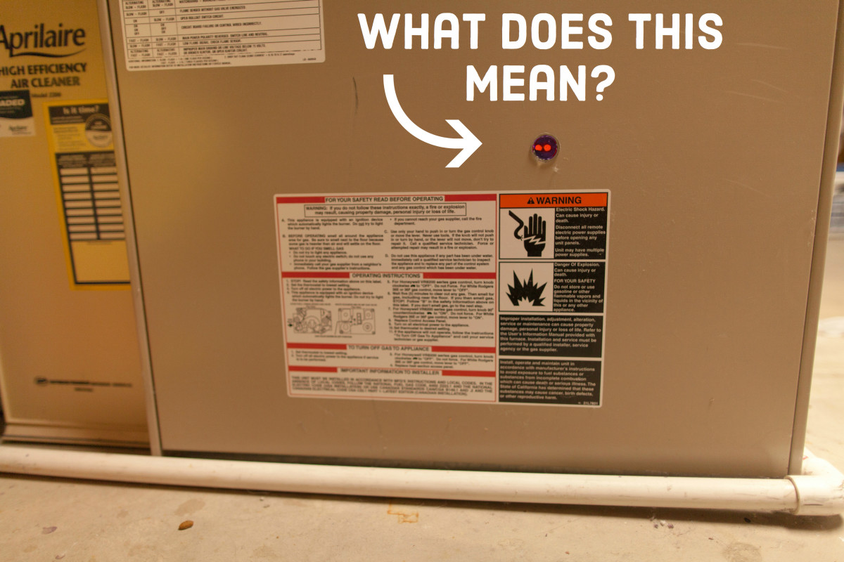 How to Diagnose Furnace Problems  Why Red Light Is Blinking Dengarden