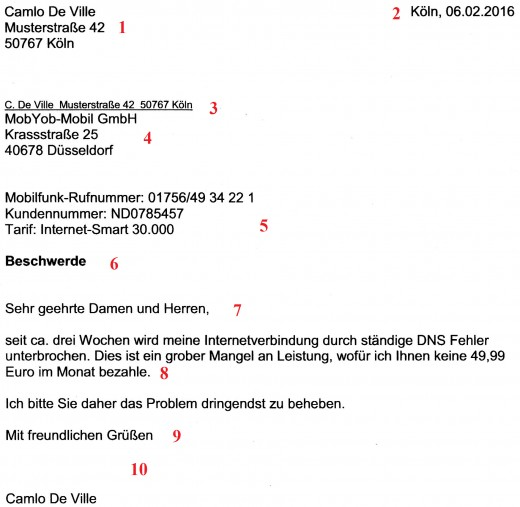 How to Set Out a Formal Letter in German HubPages
