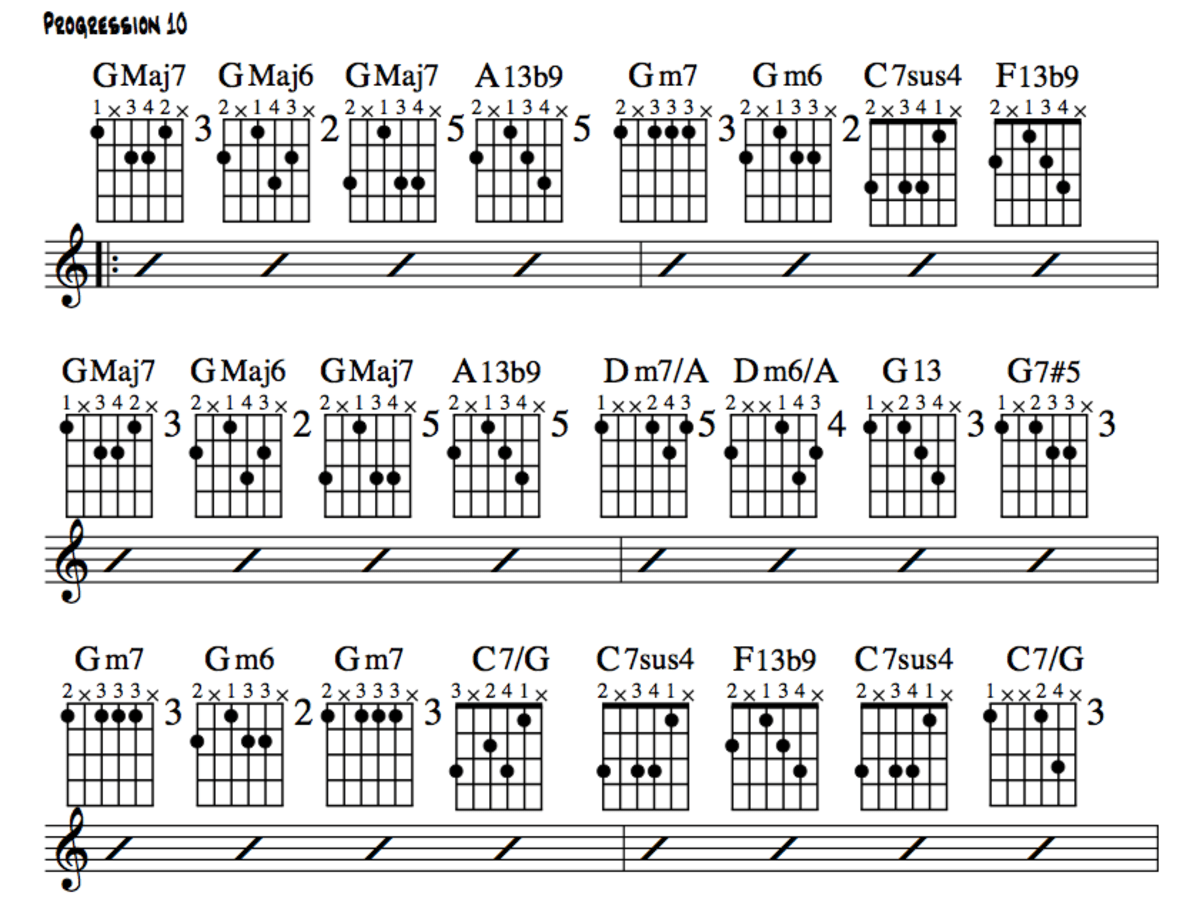 Jazz Guitar Lessons \u2022 Jazz Chord Substitution Part One \u2022 Stormy