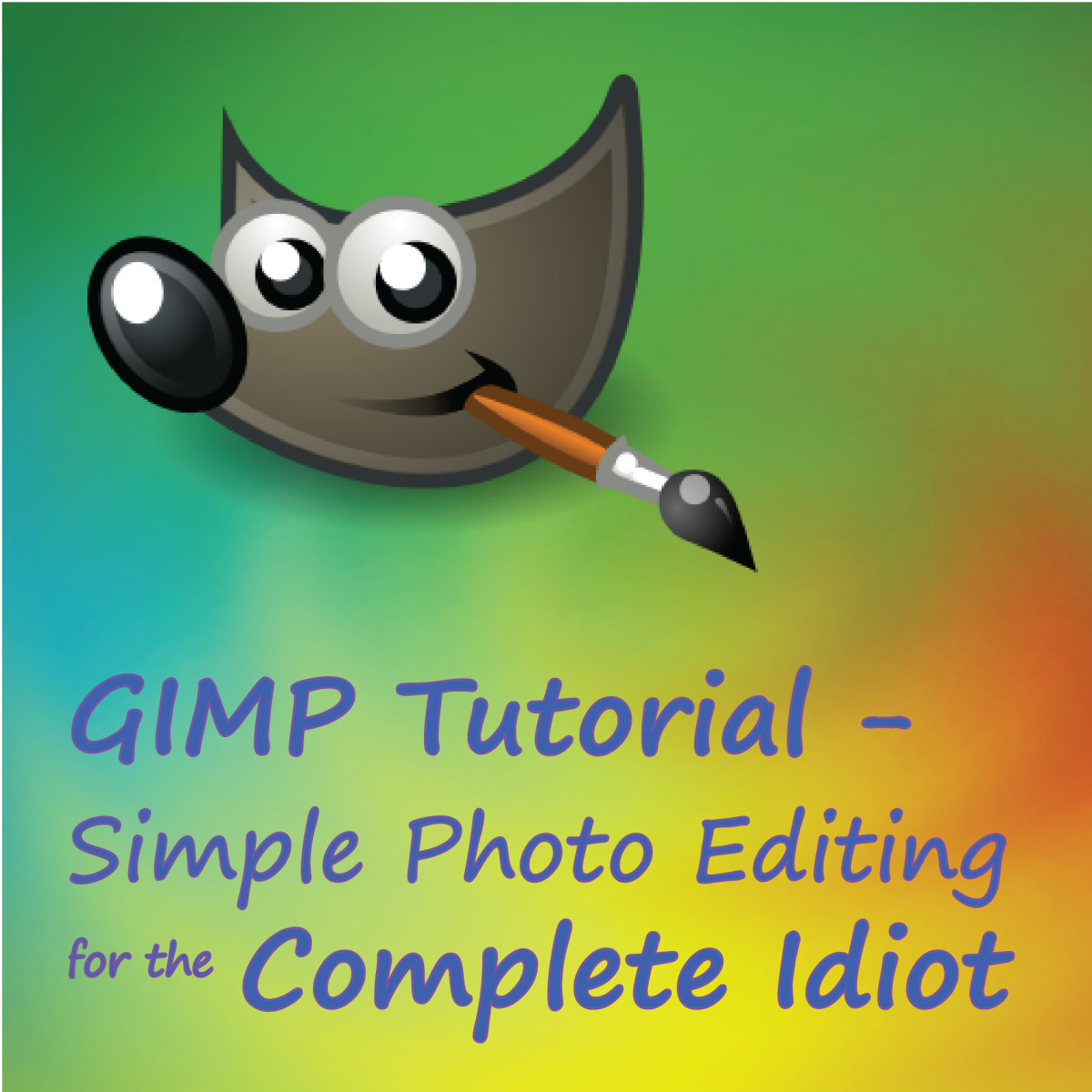 Gimp 2.6 Tutorials Gimp Tutorial Simple Photo Editing For The Complete
