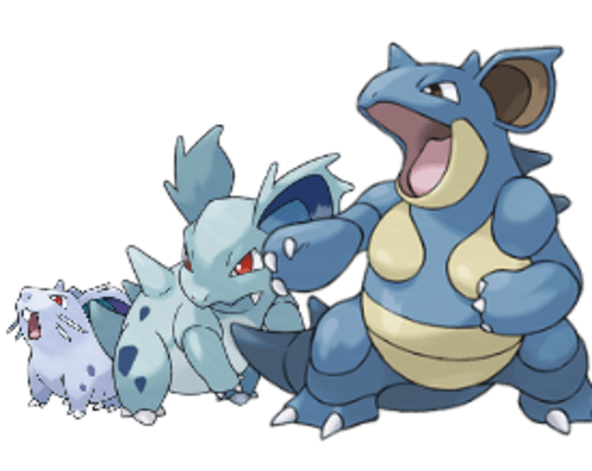 Pokemon Review Nidoqueen and Nidoking LevelSkip