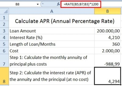 How to Calculate Effective Interest Rate Using Excel   ToughNickel