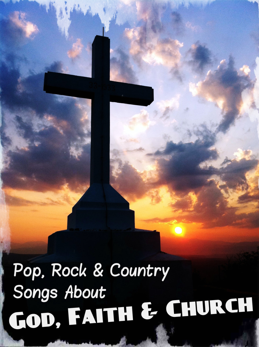108 Pop, Rock and Country Songs About God, Faith, and Church Spinditty