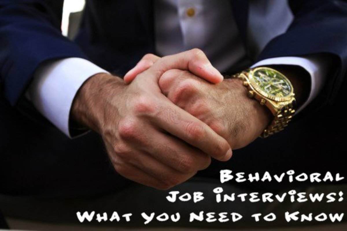 Behavioral Job Interviews for College Students Sample Questions