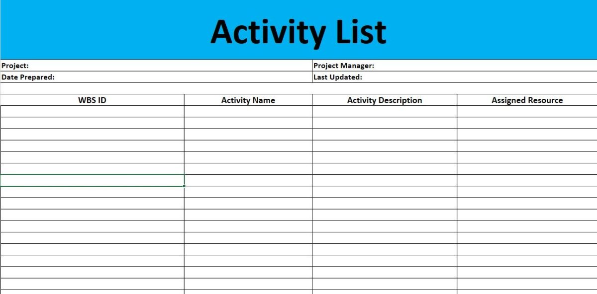 How to Create a Schedule Network Diagram ToughNickel - create a schedule