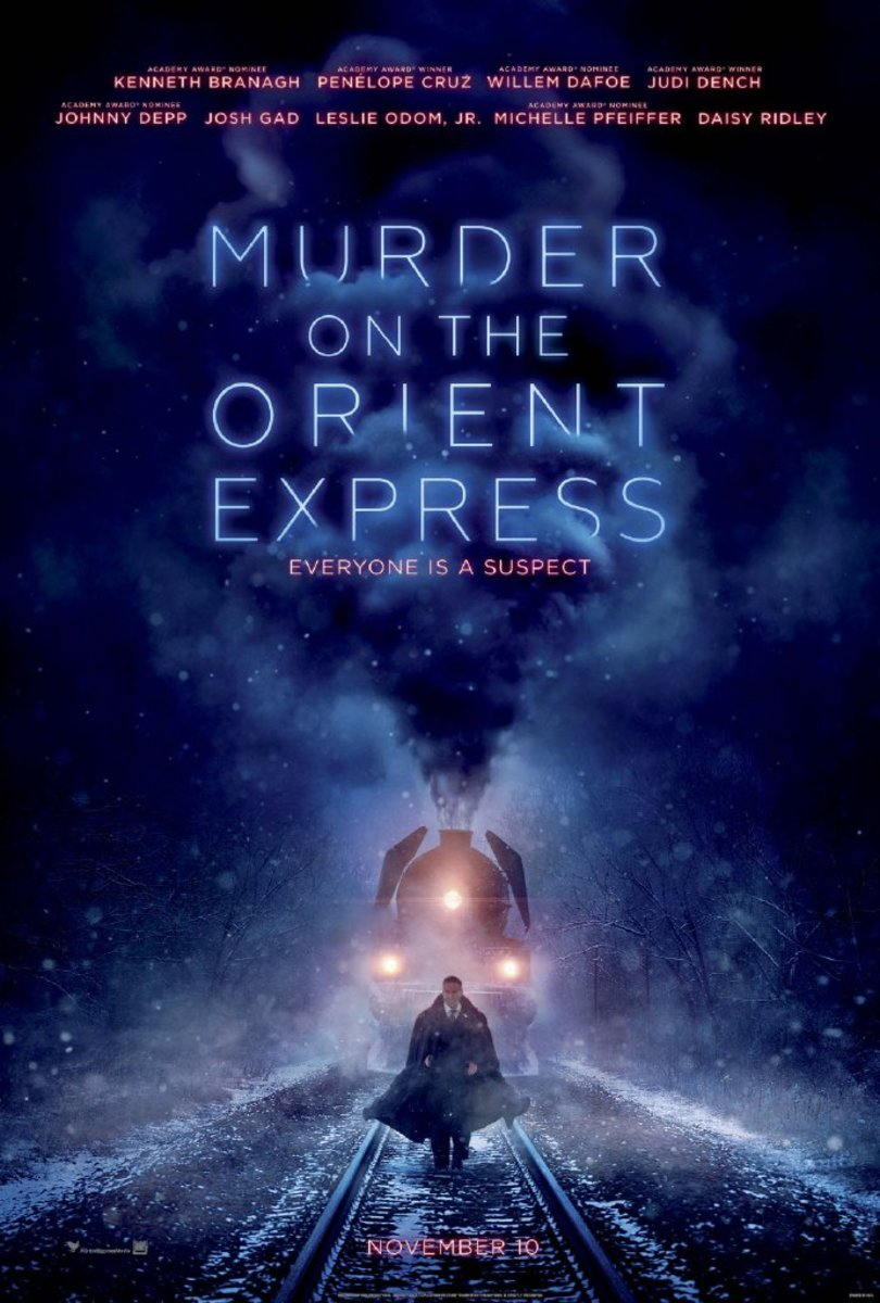 Poster Xpress New Review Murder On The Orient Express 2017 Reelrundown