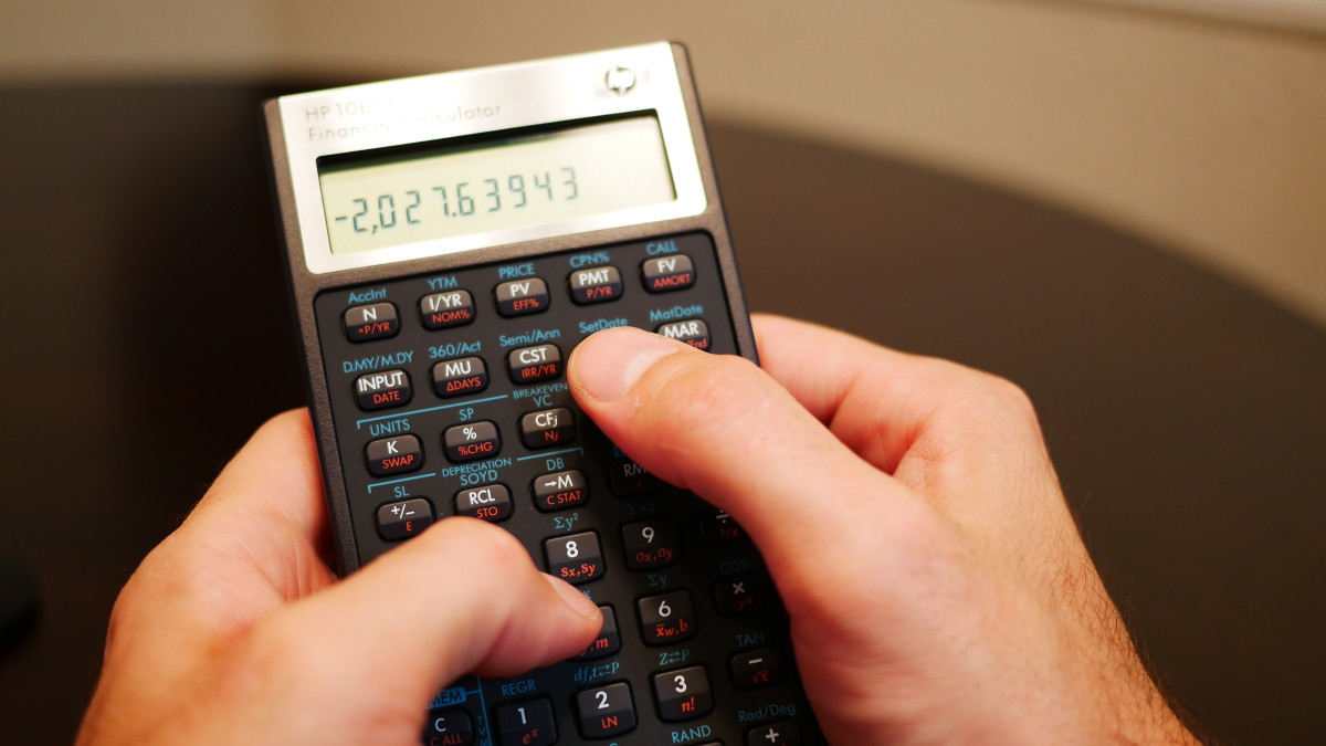 How to Answer Amortization Problems With an HP 10bII+ Calculator
