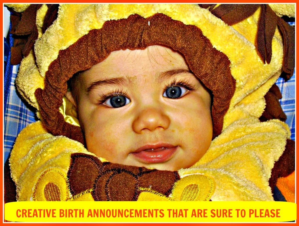 Creative Ideas for Birth Announcements WeHaveKids