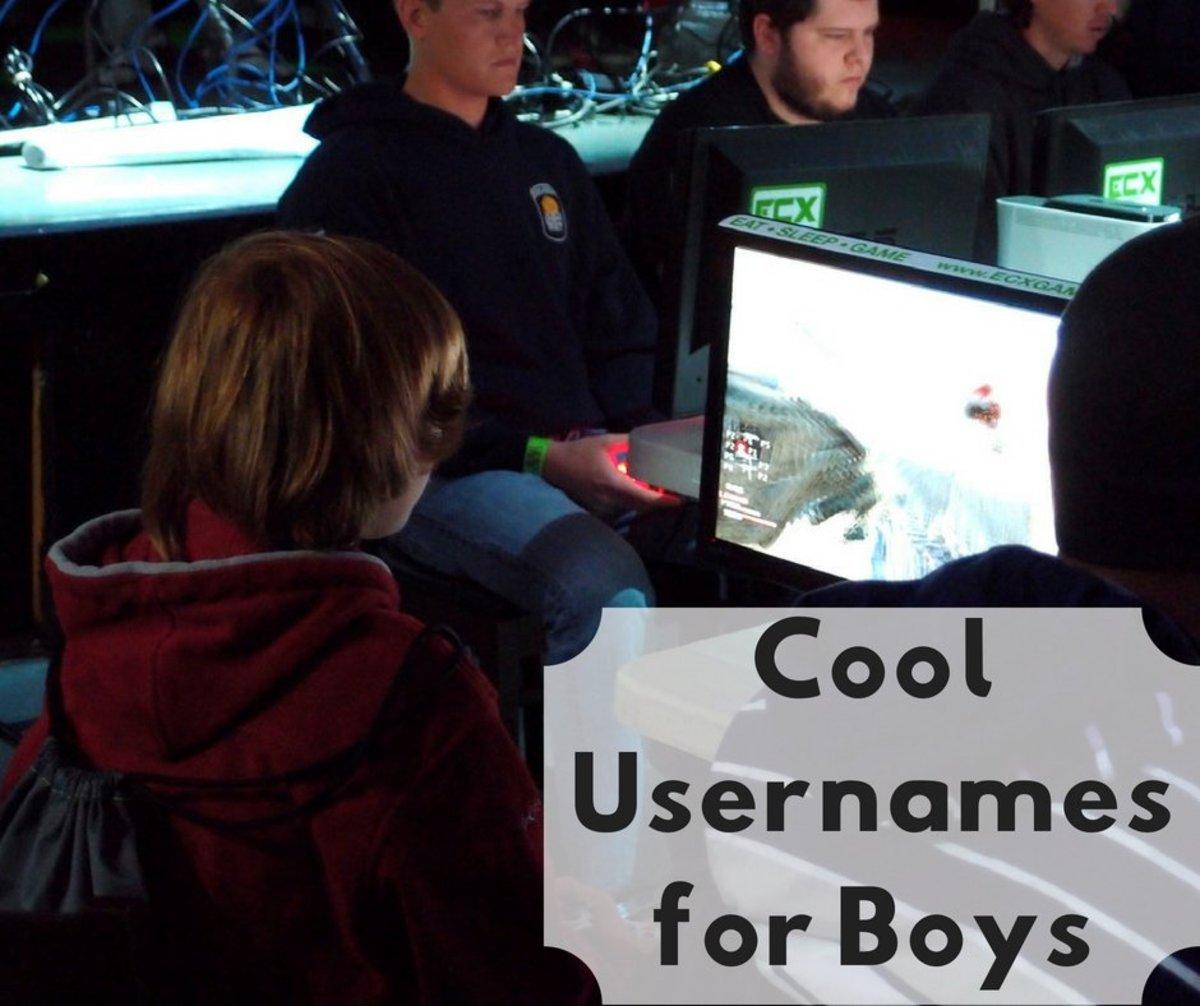 Cool Usernames for Boys TurboFuture