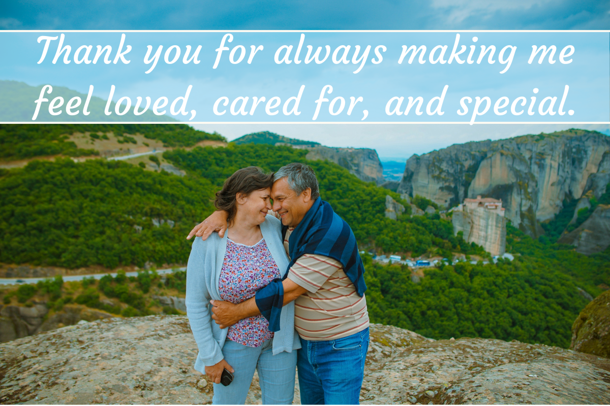 Thank-You Notes, Quotes, and Words of Appreciation for Your Husband