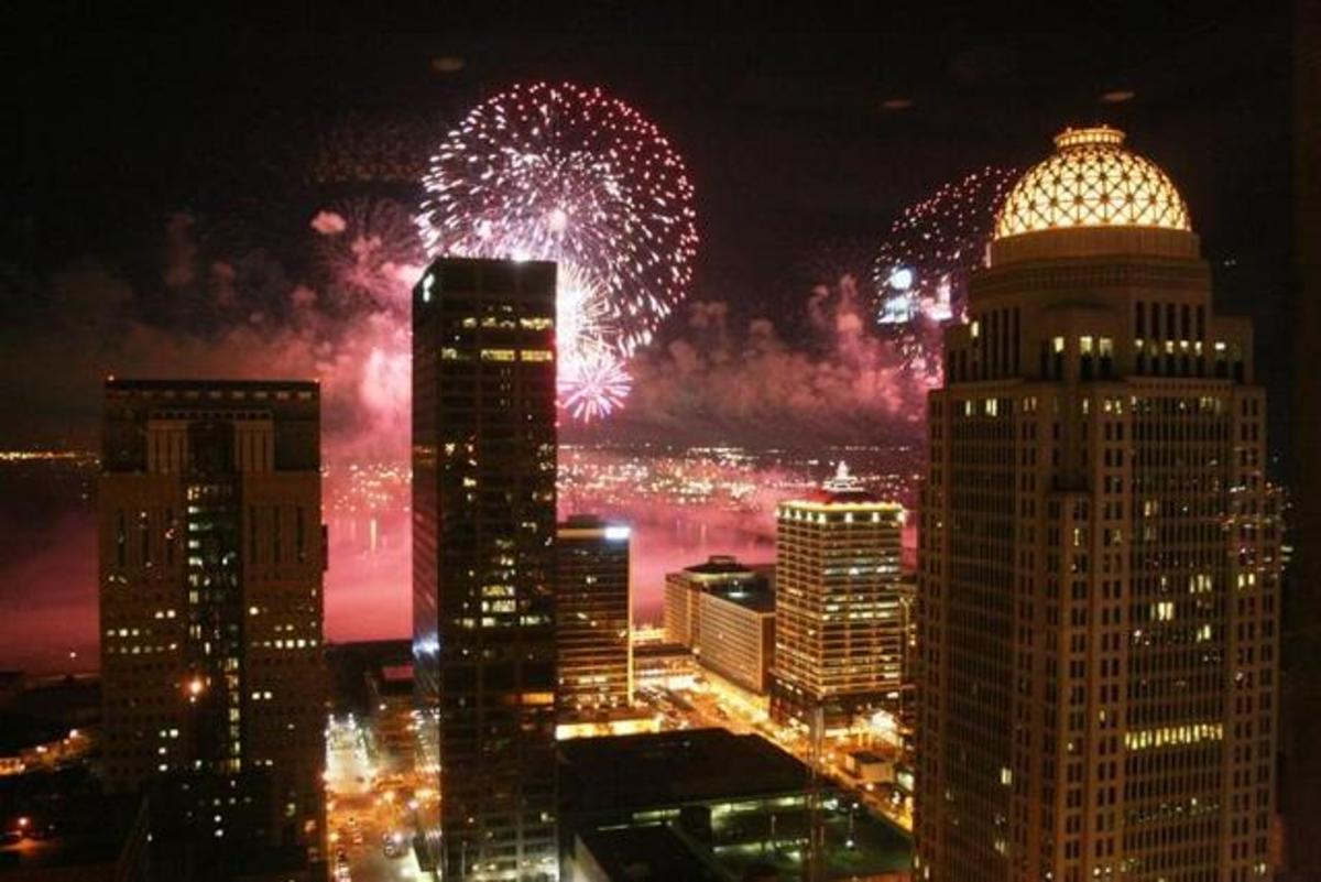 Fall Horse Wallpaper Thunder Over Louisville Largest Firework Show In The