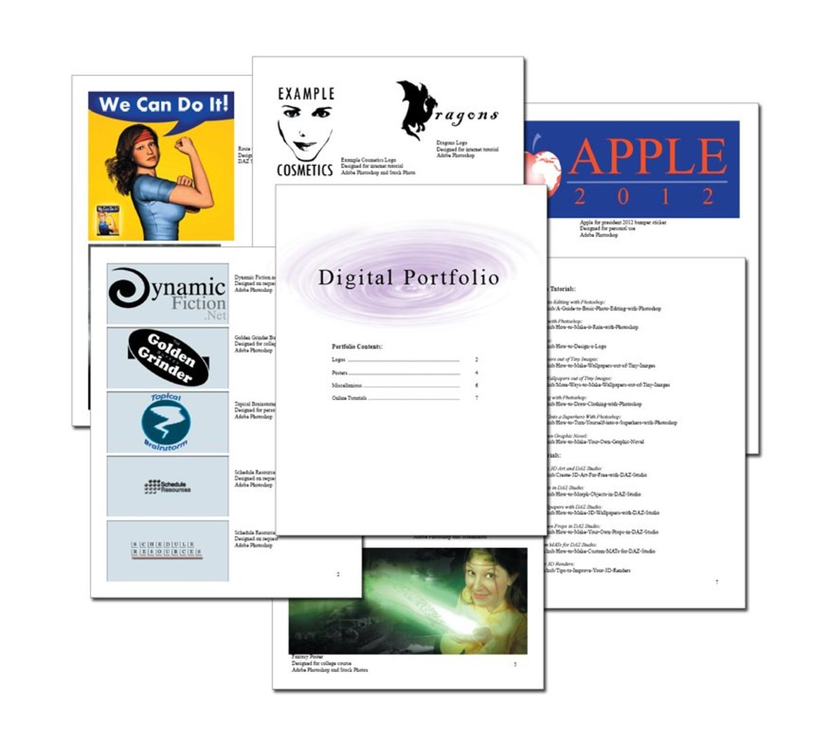 Cover Sheets For Resumes How To Create A Digital Art Portfolio | Toughnickel