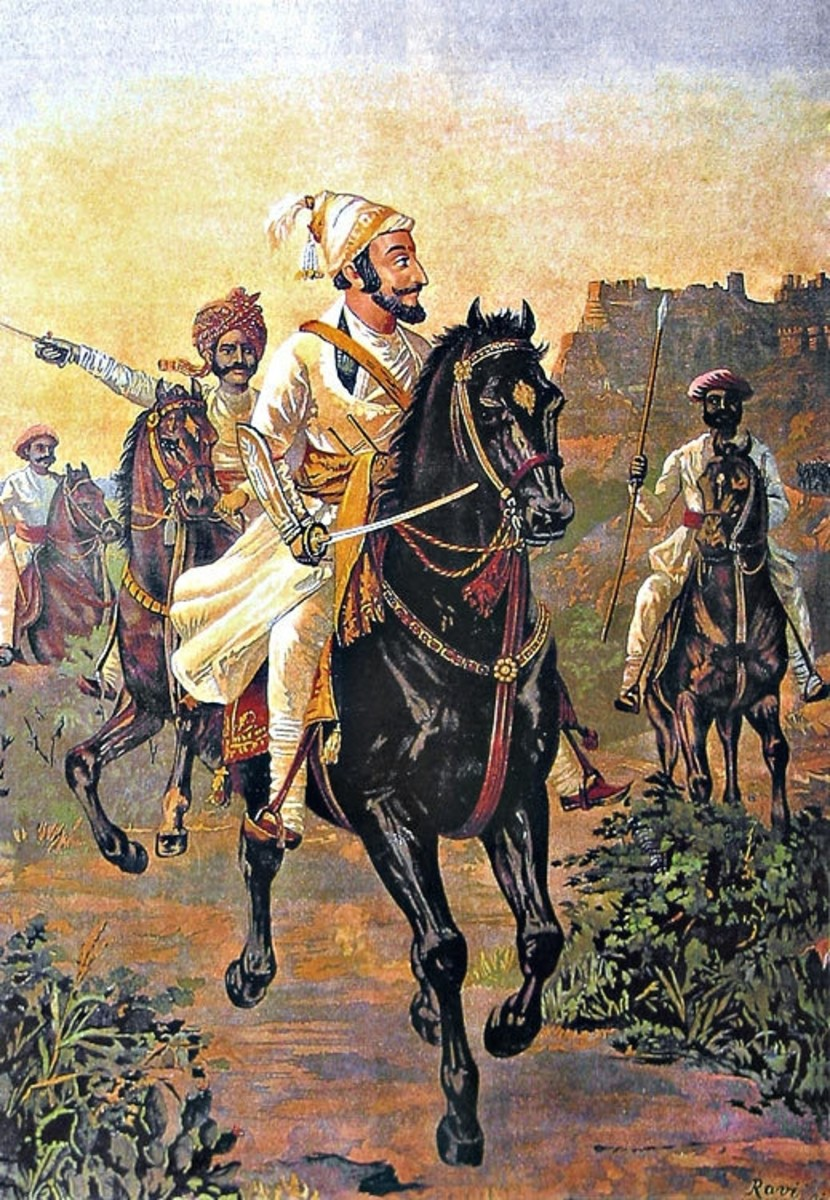 Kamal Raja Hd Wallpaper Rare Paintings Of Shivaji Maharaj Hubpages