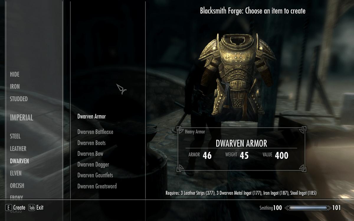 Granted Quotes Wallpaper Dwarven Armor Crafting Guide Elder Scrolls V Skyrim